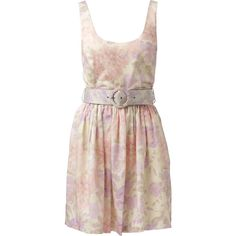 Floral Printed Prom Dress - Forever New ❤ liked on Polyvore featuring dresses, forever new, pink prom dresses, flower print dress, floral pattern dress and floral printed dress