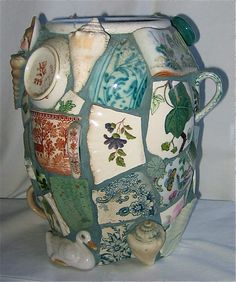 Fisherboy Vase by Norma Ryan
