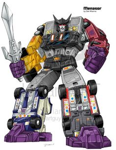 Menasor: Next time, Motormaster, be a nice guy, and gestalts will come together better.