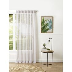 Filigree Esplanade Concealed Tab Linen 140 x 250 cm Tab Curtains, Curtains With Blinds, Sheer Curtains, Filigree, Chrome, Architecture, Home Decor, Arquitetura, Decoration Home