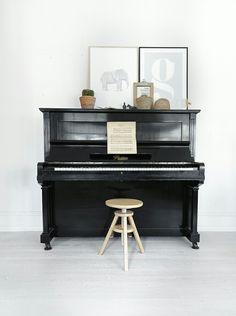 een piano als eyecatcher in huis