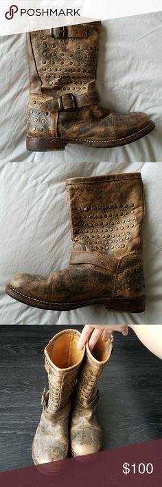 Bed Stu Boot Authentic leather. Original owner. Purchased at Neiman Marcus. Bed Stu Shoes Combat & Moto Boots