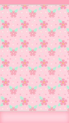 DroidBabyGirl: Wallpapers Flowery Wallpaper, Kawaii Wallpaper, Pattern Wallpaper, Wallpaper Backgrounds, Cellphone Wallpaper, Iphone Wallpaper, Pretty Wallpapers, Free Paper, Pattern Paper