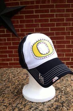 Oregon Ducks Mesh Back Trucker Baseball Style Hat by iheartmoes d4cd43430015