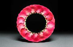 Carrie Garrott. Paper Rose Bracelet