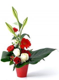 Fleurs déco du fleuriste<br>Composition Vénézia