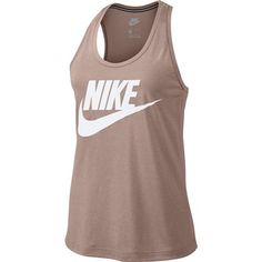 promo code b85b4 b77dc The Nike™ Women s Sportswear Essential Tank Top is made of modal and  polyester fabric with a wide-armhole, racerback design.