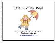 weather printable book