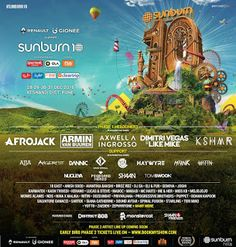 Early bird phase 2 tickets to go live today on www.bookmyshow.com   India, 4 th November 2016 – Sunburn, one of the world's biggest m...