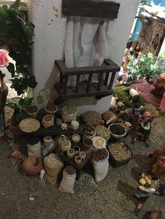 Puesto de cereales. Nacimiento/Belén Gabriela Aranda 2015. Guadalajara, México
