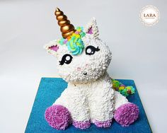 Magic Unicorn Cake - Cake by Lara Cakes Boutique Pinterest ;) | https://pinterest.com/cocinadosiempre/