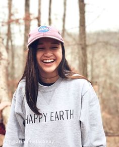 Happy Earth Apparel | Save 15% off your entire purchase with coupon code 'BJanx15' | Protect a part of our planet - with every purchase 50% of proceeds go towards conservation! | long sleeve turtle tshirt perfect for summer and festivals. Coachella, Burning Man, and Bunbury. Cute trendy pastel shirt perfect for any animal or earth loving friend gift! | Happy Earth Crewneck Sweatshirt | Happy Earth | Responsibilitrees |