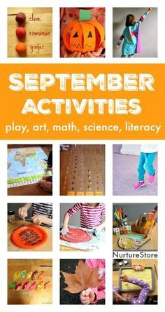 September activity plans :: things to do in September with kids
