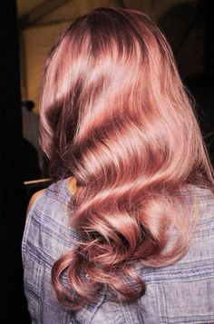 #RoseGold hair for the bold and daring