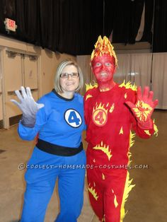 Fantastic Four Costume... This website is the Pinterest of costumes