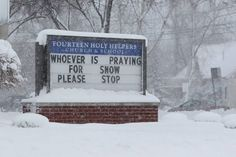 This Church Sign Perfectly Sums Up How You Feel About The Cold Weather