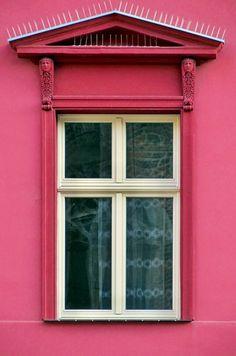 Pink window, Wroclaw, Poland