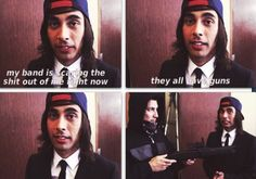 Someone save poor Vic like nowziez. K... k... I would do it but I'm 2 scared to get in between them and gunz... srry Vic