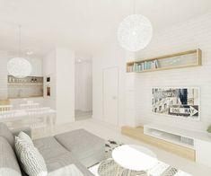 Salones de estilo escandinavo de 4ma projekt - #decoracion #homedecor #muebles