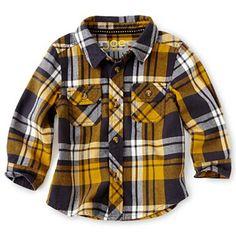 d6079dbfa2 Joe Fresh™ Long-Sleeve Woven Shirt - Boys 3m-24m - jcpenney