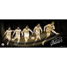 Steiner Cristiano Ronaldo Signed Real Madrid Shot Progression 16.5x39 Photo