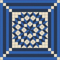 Quilt Pattern Double Carpenters Star Multiple by QuiltPatterns