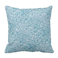 Water Design Throw Cushions, made in USA