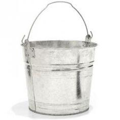 Two-Gallon Galvanized Bucket...for scorecards?