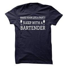 Sleep With A Bartender T Shirt
