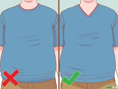 4 Ways to Dress Well As an Overweight Man - wikiHow Chubby Men Fashion, Large Men Fashion, Mens Fashion, Guy Fashion, Clothes For Men Over 50, Big Man Suits, Flattering Outfits, Outfits Hombre, Men Formal