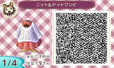 Find the rest of the codes here: http://acnlqrcodescollection.tumblr.com