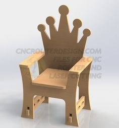 Archive for CNC Router Chair Design for Cutting DXF Vectors ArtCAM Vectric 066