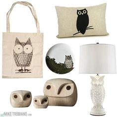 """Love all these owls in one place!  """"Owl Love You Forever!"""" via http://miketrobiano.tumblr.com"""