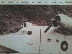 PORTO DA CALHETA: Hidroavião no Porto da Calheta