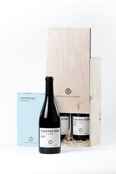 Geschenkset Wein & Buch Koster Sion Réserve – Ein Wein und seine Geschichte