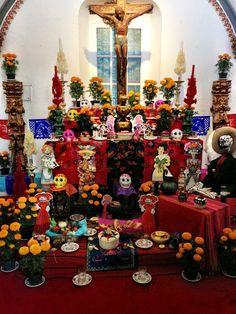 DIA DE LOS MUERTOS ☠~Altar de muertos