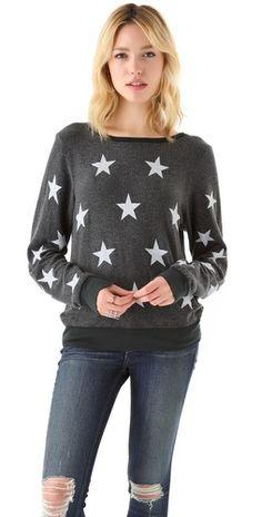 Starshine Baggy Beach Sweatshirt