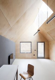 School gatehouse by Jonathan Tuckey Design built on a strict budget, via FormFreundlich.de