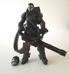 GI Joe Retaliation / PoC CUSTOM Call OF Duty Ghosts Juggernaut #Hasbro