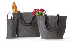 felt bags and purses