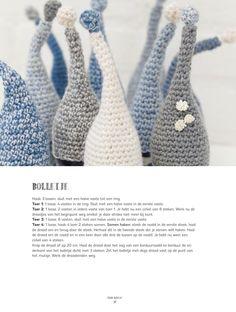 from Inkijkexemplaar Puur haken Knit Crochet, Easter, Knitting, Diy, Crafts, Nice Things, Christmas, Crochet Mouse, Amigurumi