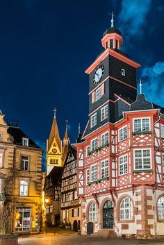 Rathaus Heppenheim, Deutschland