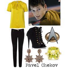 """Pavel Chekov"" by cristianoronaldostar on Polyvore"