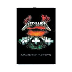 Metallica Master of Puppets Fabric Poster - Metallica Master Puppets fabric poster made of silk-like fabric that won't rip like a standard band poster. Measures approximately 30 x 40 inches.