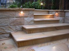 Outdoor Deck Stairs Retaining Walls 42 New Ideas