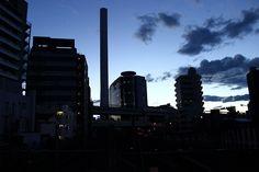 Tokyo, Ikebukuro in the evening.