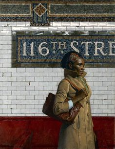 Waiting - 116th St. By Daniel E. Greene