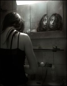 Mirrors are their one true enemy. All Beauty is lost.   (Mirrors by ValentinaKallias.deviantart.com on @deviantART)