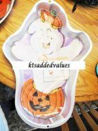 Wilton Haunted Pumpkin Character Cake Pan w Insert 1998 : KTs Added Values, Your Mom and Pop Online Store