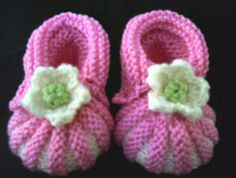 knitted cowboy booties | Baby Bootie Knitting Patterns - Learn How to Knit with Knitting
